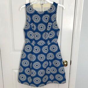 Alice + Olivia Epstein Structured Pouf Dress
